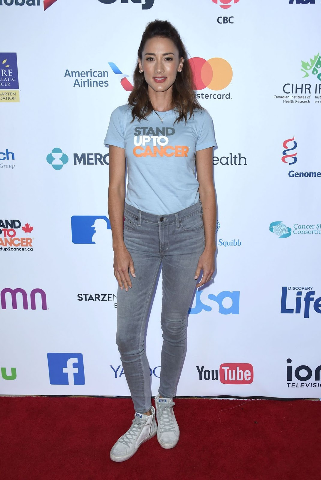 Full HQ Photos of Bree Turner At 5th Biennial Stand Up To Cancer, Los Angeles