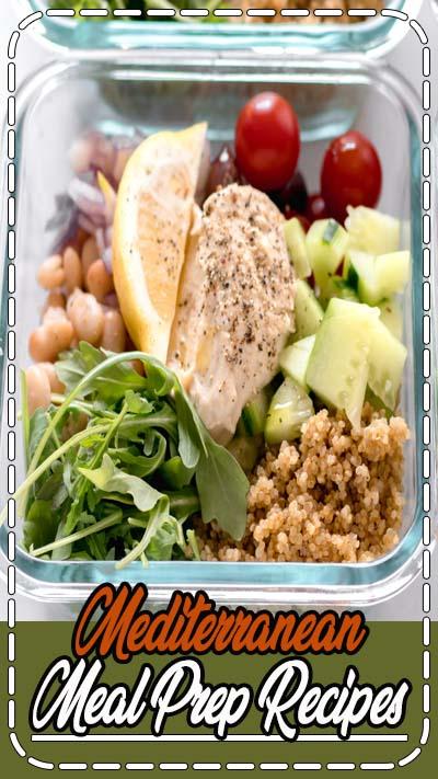 Head over to MealPrepOnFleek.com for easy meal prep recipes! #mealpreponfleek #mealprep #mediterranean #tiktok