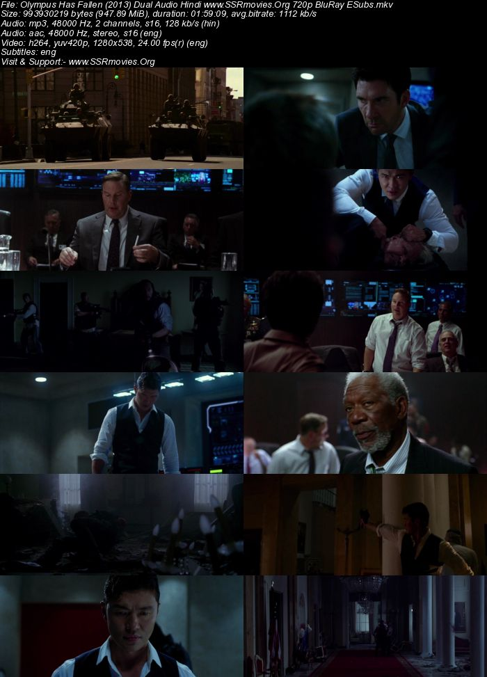 Olympus Has Fallen (2013) Dual Audio Hindi 720p BluRay