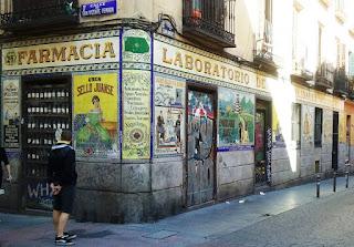 Antigua farmacia de Laboratorios Juanse.