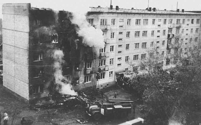 Vladimir Serkov, incident at Severny Airport (1976)