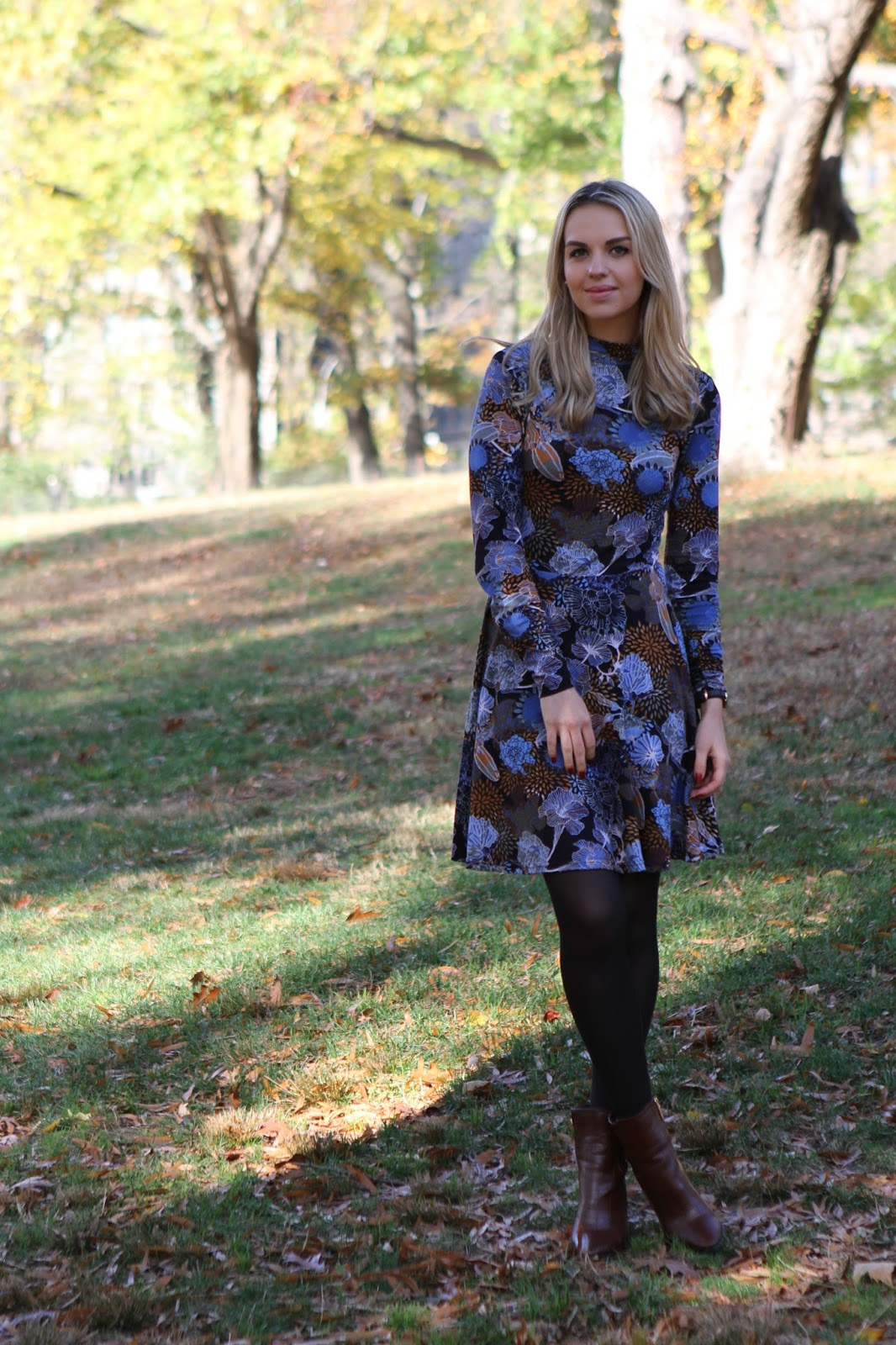 fashion blogger central park