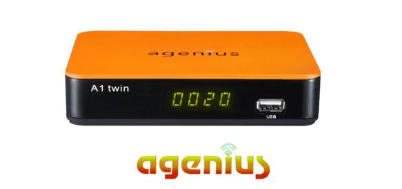 AGENIUS A1 TWIN NOVA ATUALIZAÇÃO V2.525 - 21/12/2018