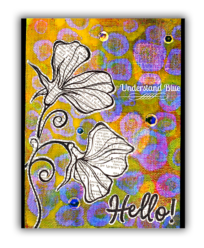 Drunken Acrylic Reveal Background by Understand Blue