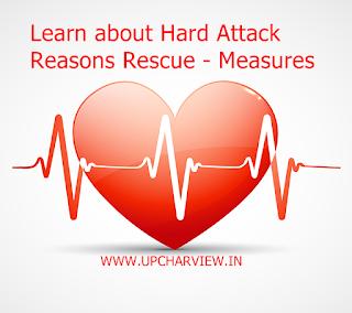 हार्ड अटैक के बारे में जानें कारण - बचाव - उपाय