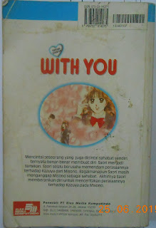 Sinopsis Komik Serial Cantik With You, cover belakang komik