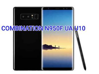 COMBINATION N950F UA U10