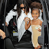 Kim Kardashian and daughter North West look fabulous as they step out to lunch in NYC