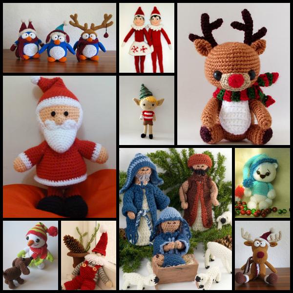 Kit Amigurumi Navidad : Manualidades, crochet, punto Manualidades