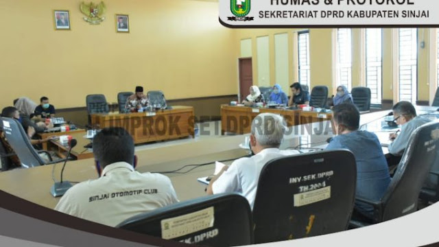 Komisi I DPRD Sinjai Rapat Kerja Bersama Dispora