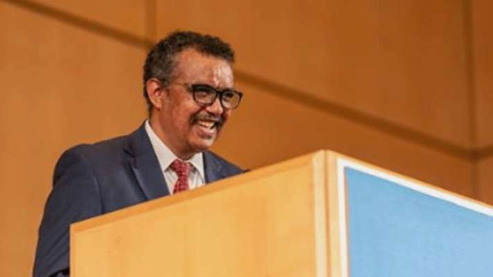 World Health organisation (WHO) chief Tedros Adhanom Ghebreyesus