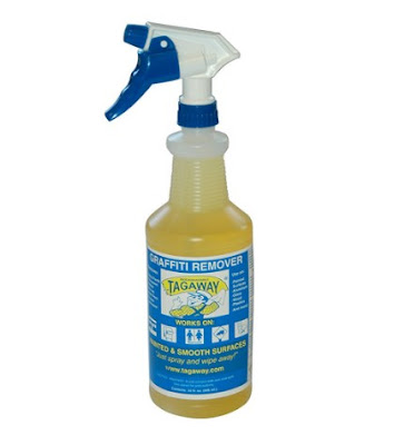 Graffiti Removal Products - Tagaway Graffiti Remover 32 Oz. For Smooth and Painted Surfaces