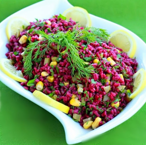Bulghur Salad with Turnip - Vegan