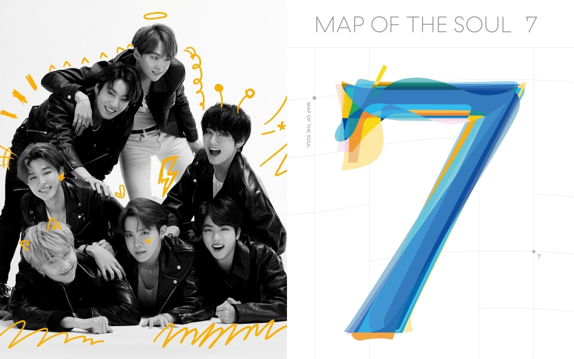 BTS Tops The American iTunes Songs Chart With All 12 Songs On The Album 'Map of the Soul: 7'