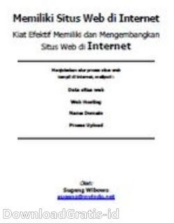 Belajar Web - Memiliki Situs Web di Internet ~ downloadgratis-id | download gratis ebook ...