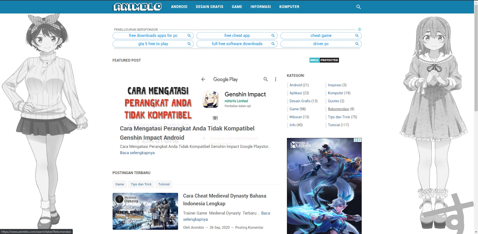 Tempat Informasi Seputar Game dan Teknologi