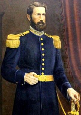 Retrato de José Gálvez parado