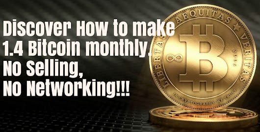 BTC 1.4 FOR YOU MONTHLY!!!