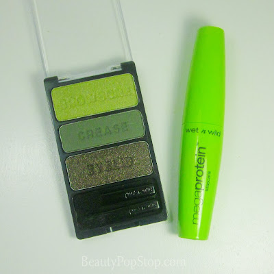 wet n wild color icon eyeshadow trio in soldiers in charms swatches and review