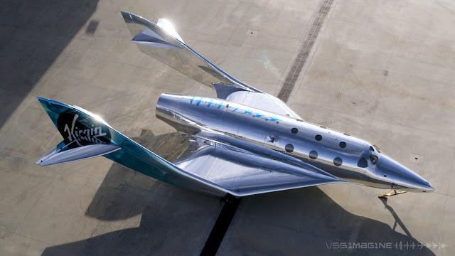pesawat luar angkasa, vss imagine milik virgin galactic, 5 fakta pesawat vss imagine, vss imagine, virgin galactic
