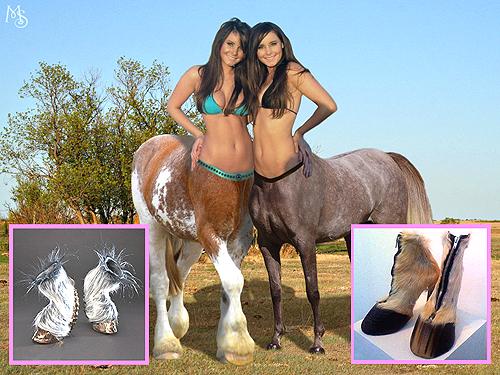 Model Sepatu Wanita Kaki Kuda