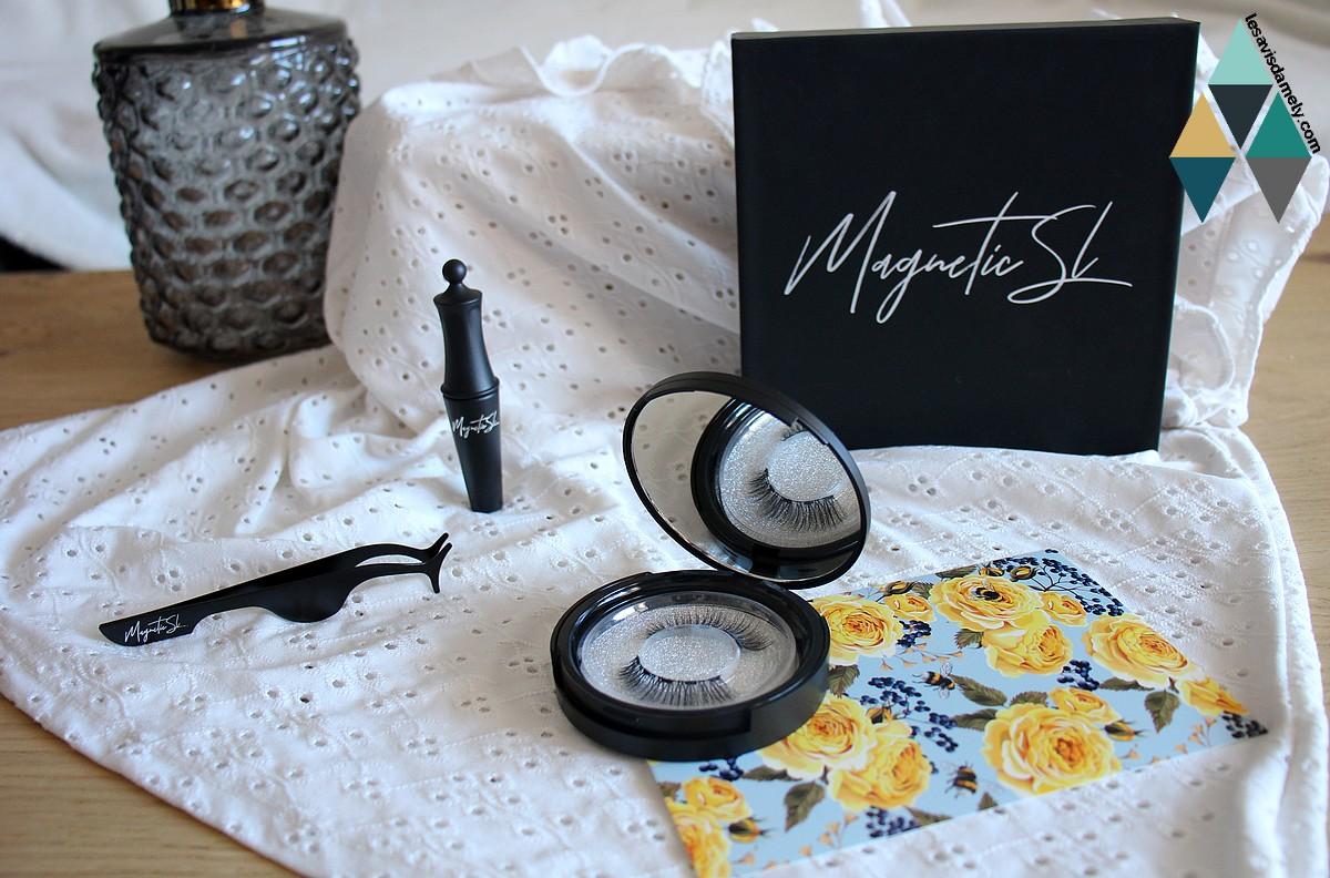 avis et test kit faux cils eyeliner aimanté magnetic by sl