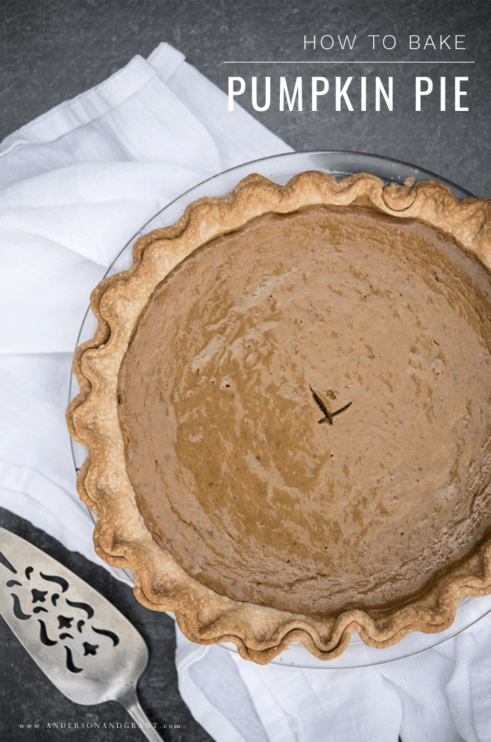 How to bake pumpkin pie