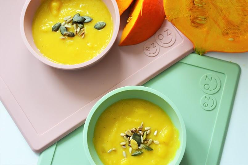 Mój sposób, dzięki któremu dzieci z chęcią jedzą zupy + przepis na zupę dyniową