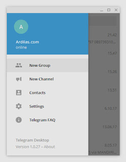 Telegram Desktop - New Group - Cara Membuat Grup Telegram di Android Komputer dan Web