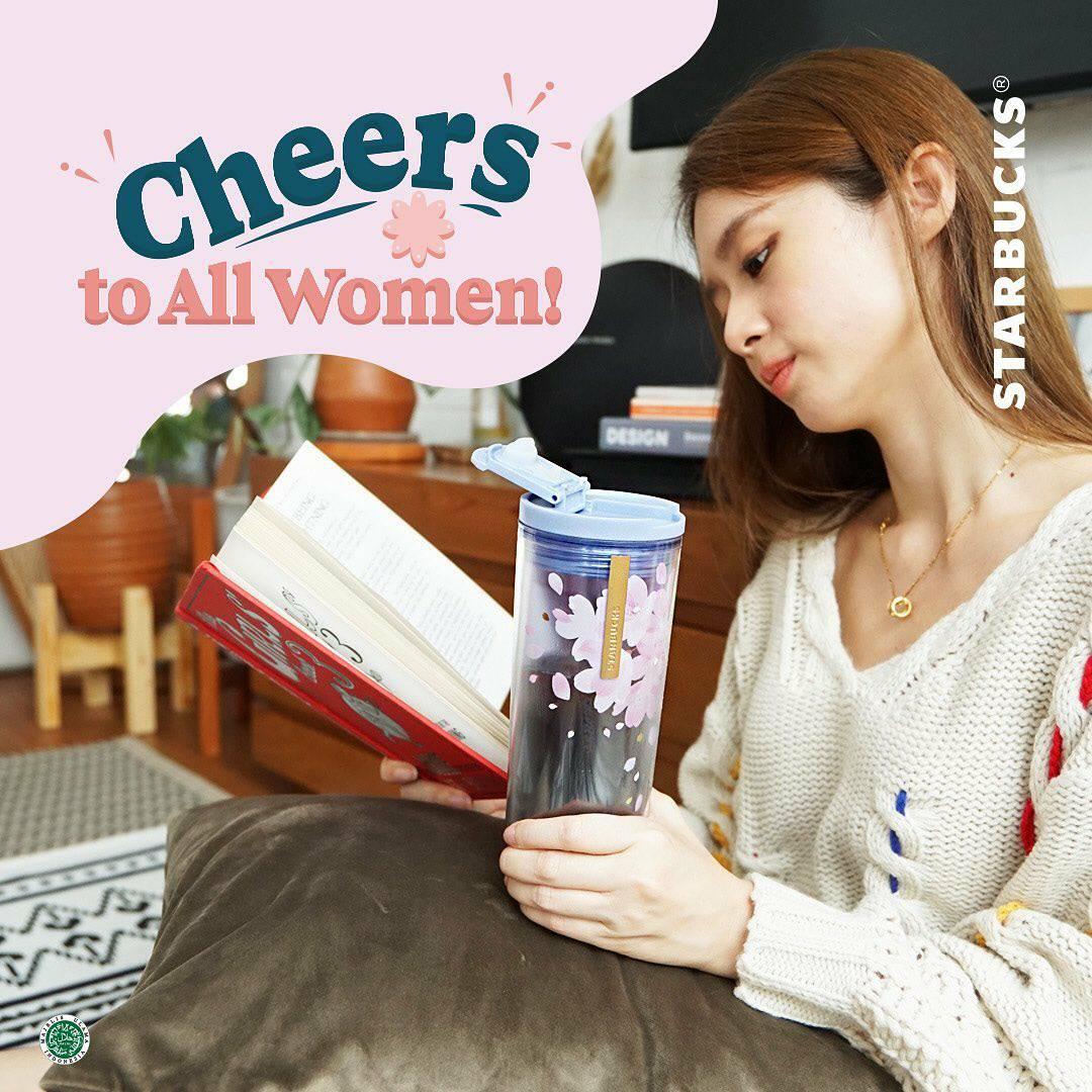 Starbucks Promo International Women's Day Gratis Minuman