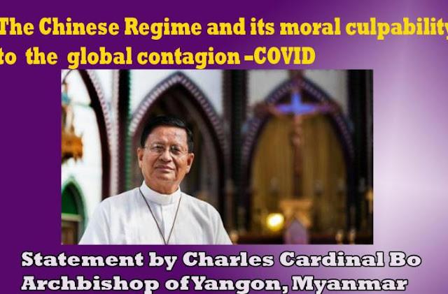 China communist regime created Coronavirus pandemic, says Asian Church head Cardinal Bo