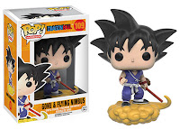 Funko Pop! Goku on his Flying Nimbus