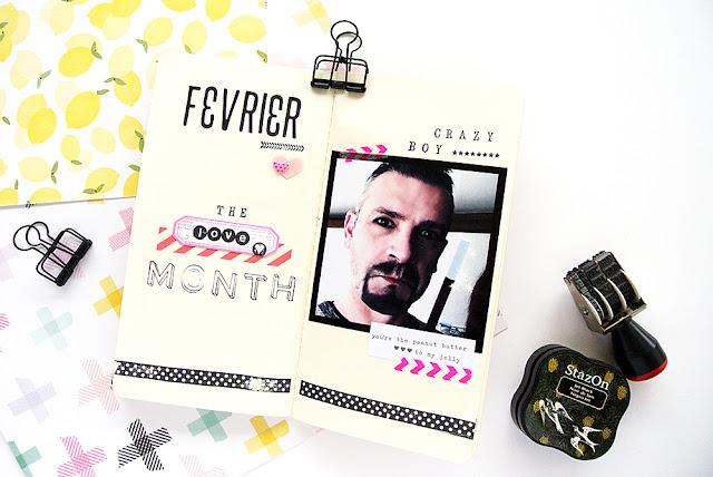 Traveler's Notebook - Art Journal - Papier et Moi