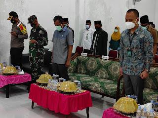 Kapolres Pangkep hadiri upacara hari Amal bhakti Kemenag