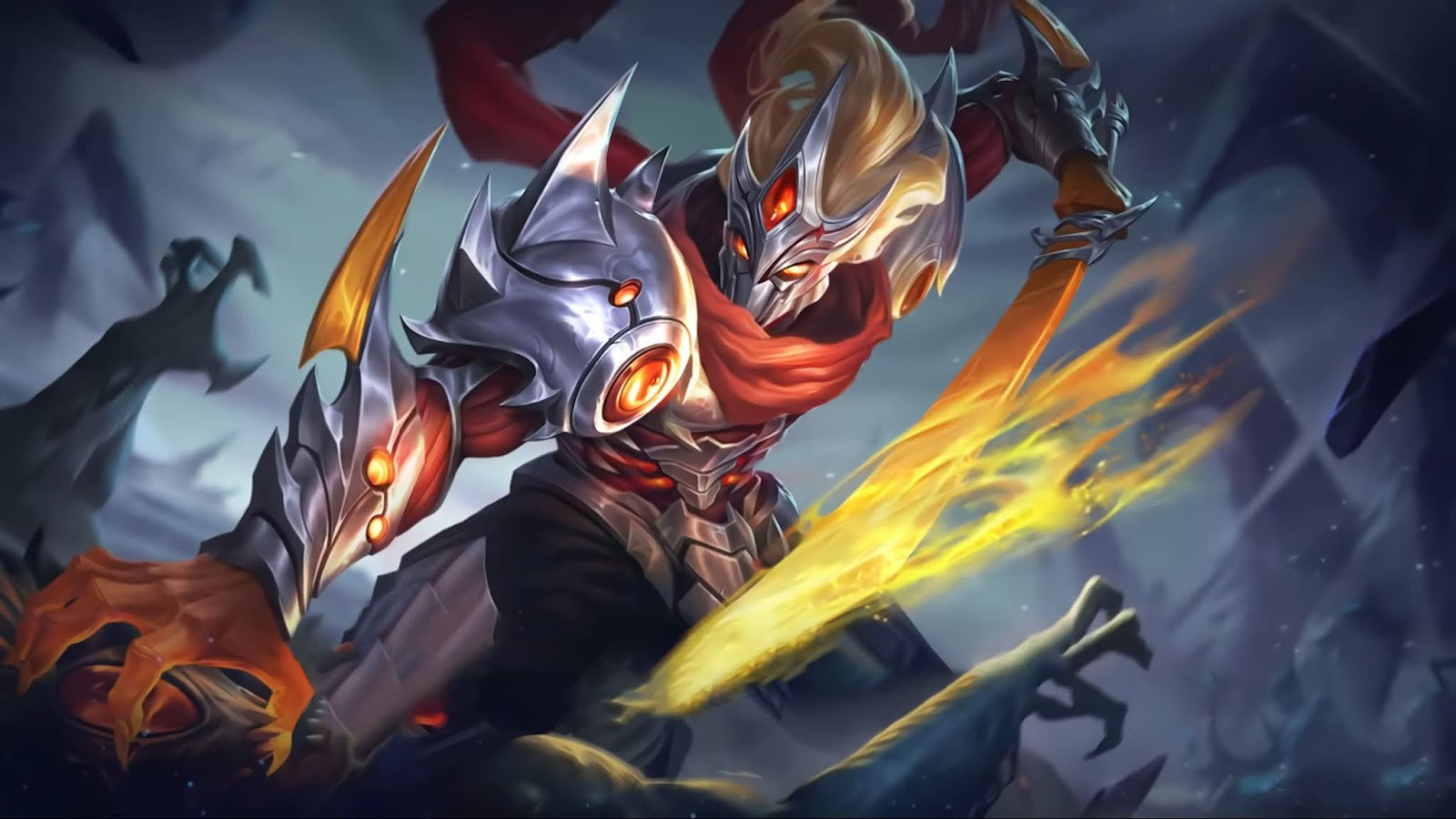 Wallpaper Hayabusa Experiment 21 Skin Mobile Legends HD for PC
