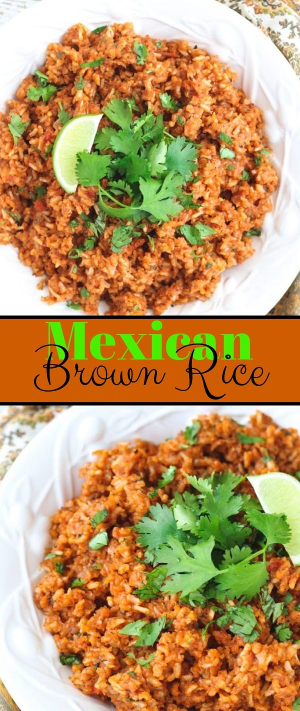 Mexican Brown Rice #Mexican #Brown #Rice Healthy Recipes Easy, Healthy Recipes Dinner, Healthy Recipes Best,