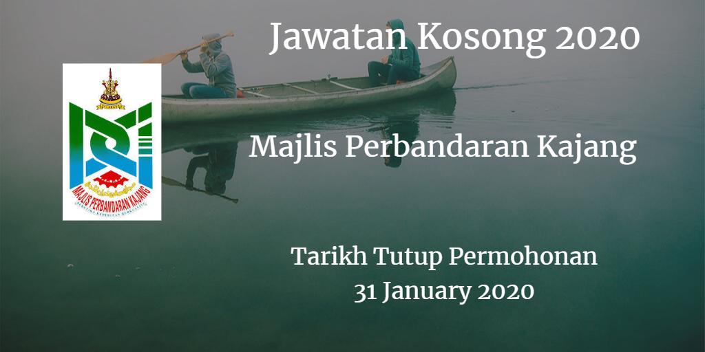 Jawatan Kosong MPKj 31 January 2020