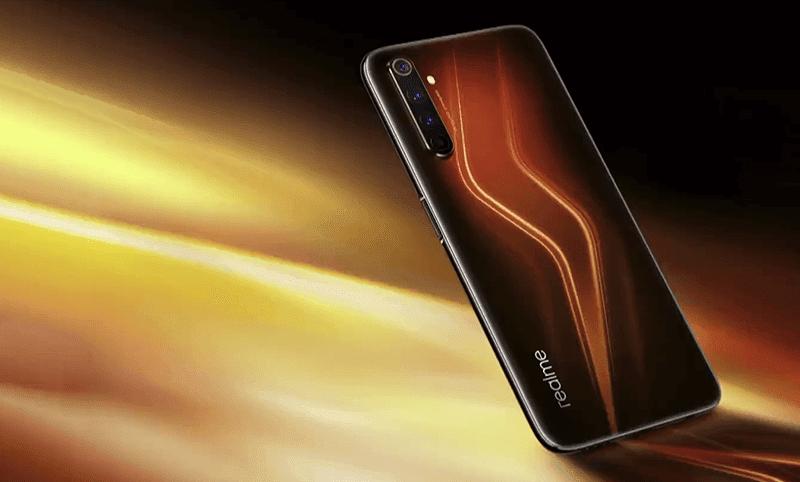 realme 6 Pro Lightning-inspired design