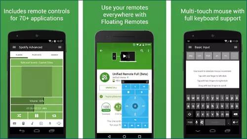 تطبيق Unified Remote