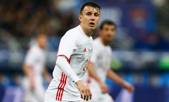 Aleksandr Golovin is a key player for hosts Russia