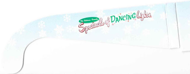 The Osbourne Spectacle of Dancing Lights Snowflake Glasses