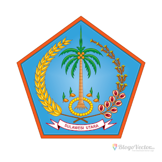 Provinsi Sulawesi Utara Logo vector (.cdr)