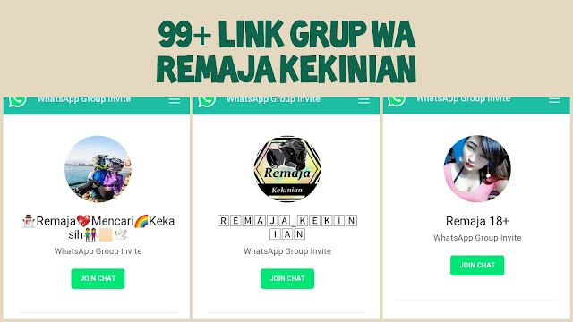 99+ Link Grup WA Remaja Kekinian 2021
