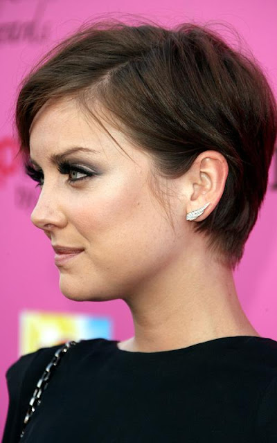 Jessica Stroup With Short Hairstyles Hairstyles 2013