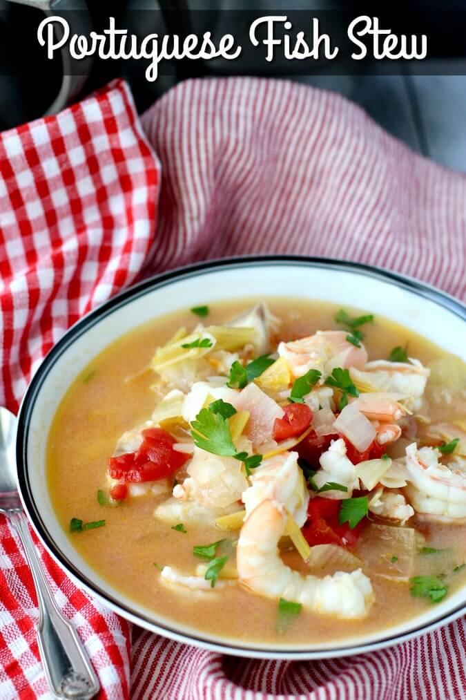 Portuguese Fish Stew (Caldeirada de Peixe) recipe