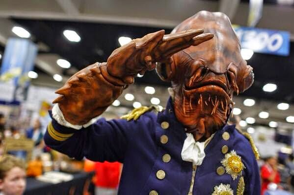 Ackbar Cosplay as an Admiral