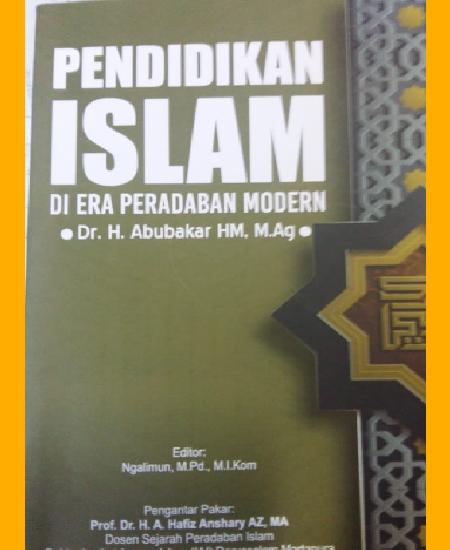 Buku Pendidikan Islam di Era Peradaban Modern (Download PDF Gratis !!!!)
