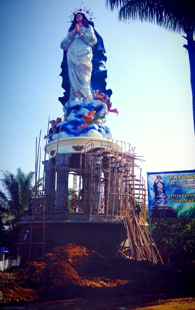 Patung Bunda Maria Tertinggi di Dunia Dibangun di Kerep Ambarawa