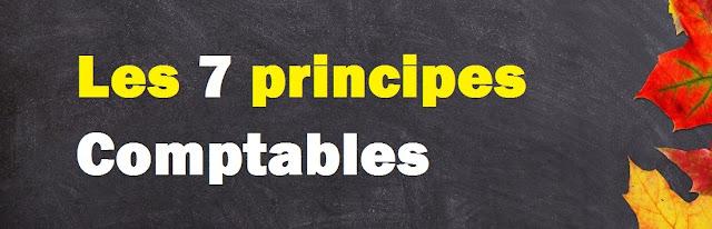 Les 7 principes comptables fondamentaux pdf