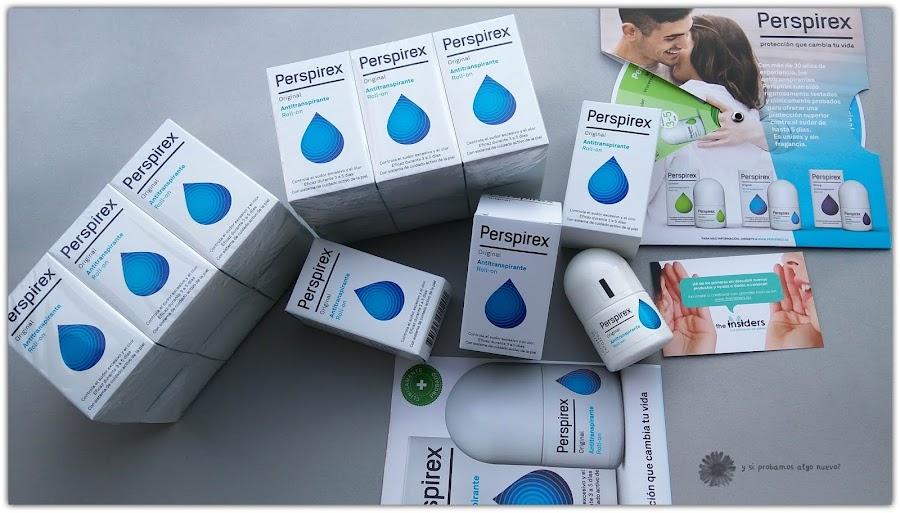 Antitranspirante Perspirex